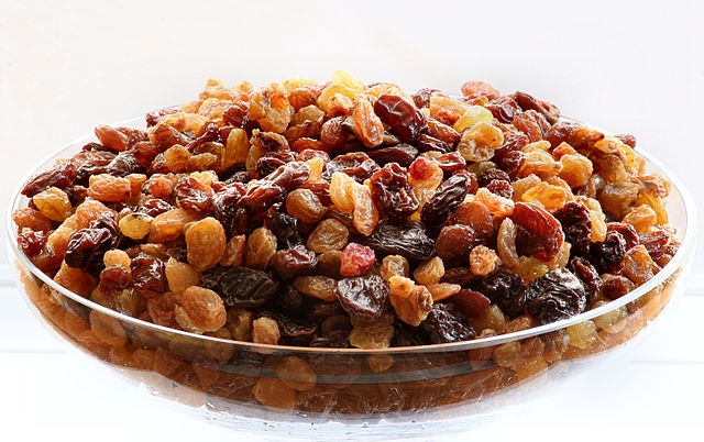 Raisins_By Pawel Kuzniar_ Wikimedia Commons