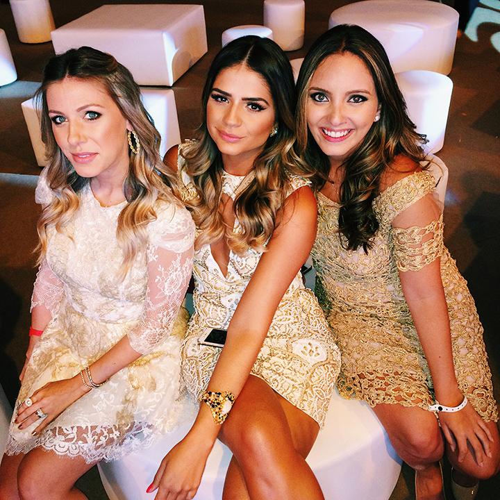 Nati Vozza, Thássia Naves e Lele Saddi - Foto Reprodução Blog da Thássia