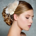 Ivory-Bridal-Hair-Accessories-Champagne-Peacock-Feather-Fascinator-Wedding-Hair-Clip-Vintage-Velvet-Leaves