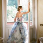 floral-print-wedding-dress