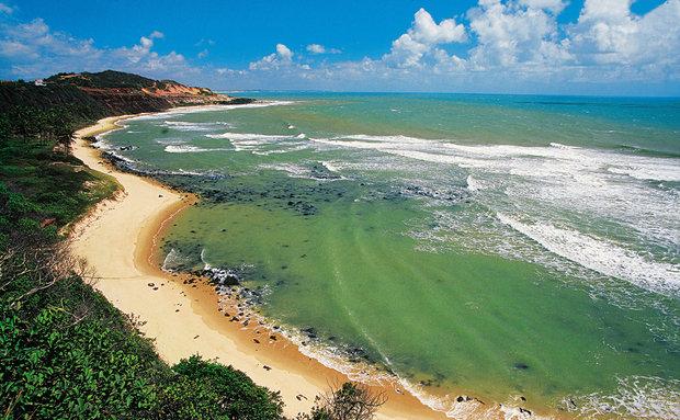 Praia do Amor, na vila da Praia da Pipa.